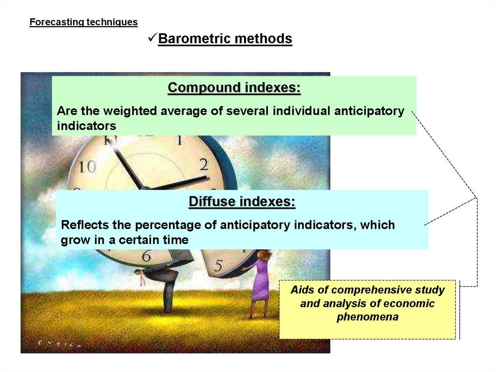 Forecasting techniques  Barometric methods - online presentation