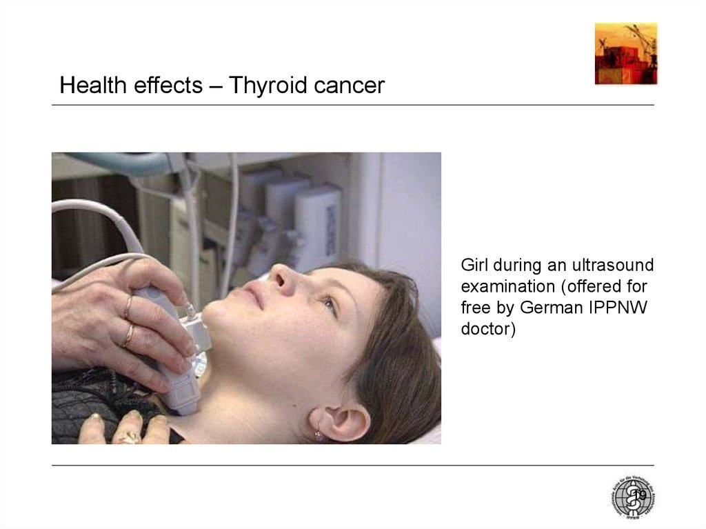 Health effects – Thyroid cancer