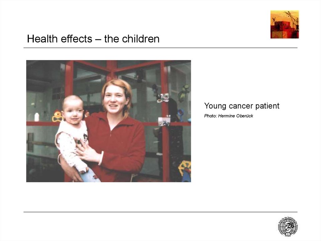 Health effects – the children