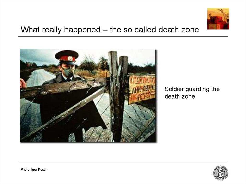 What really happened – the so called death zone