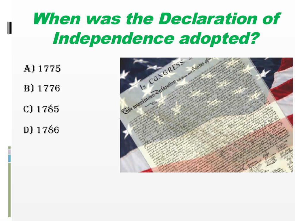 Do You Know The Usa презентация онлайн