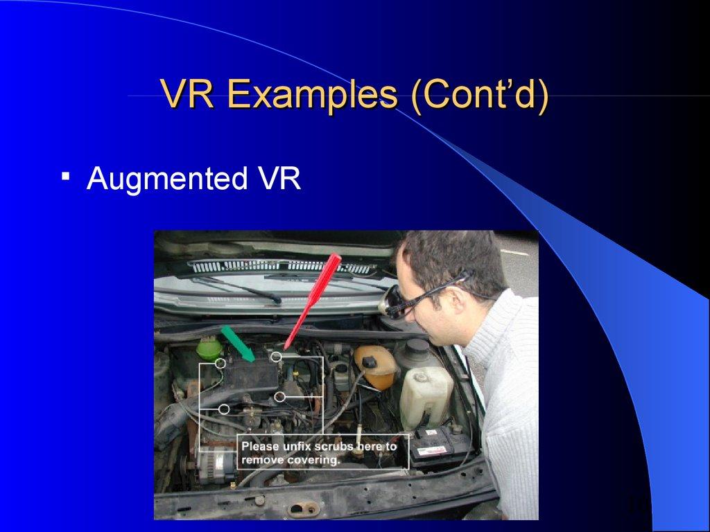 Virtual reality - презентация онлайн