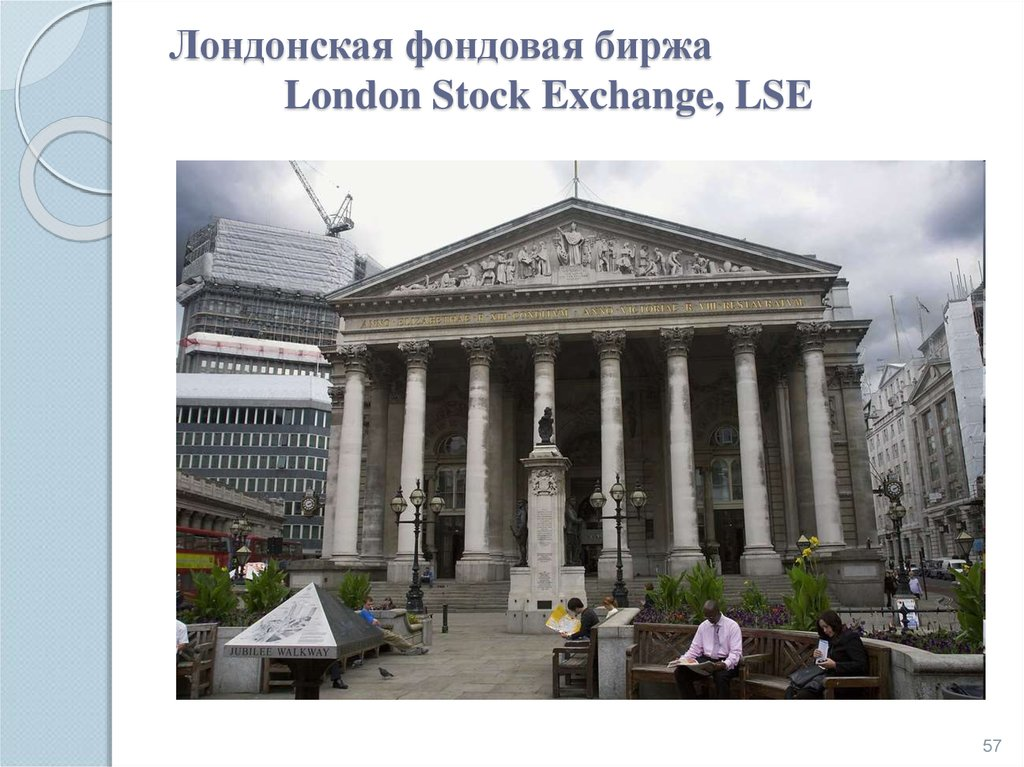 Лондонская фондовая биржа London Stock Exchange, LSE