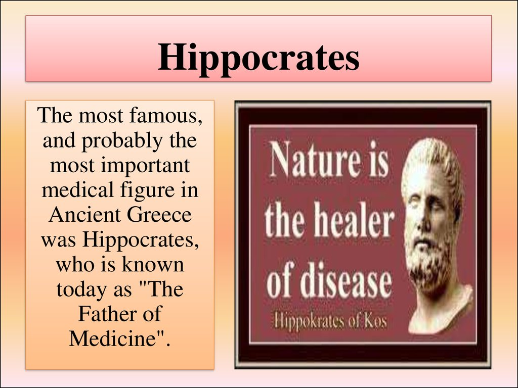 the life and career of hippocrates