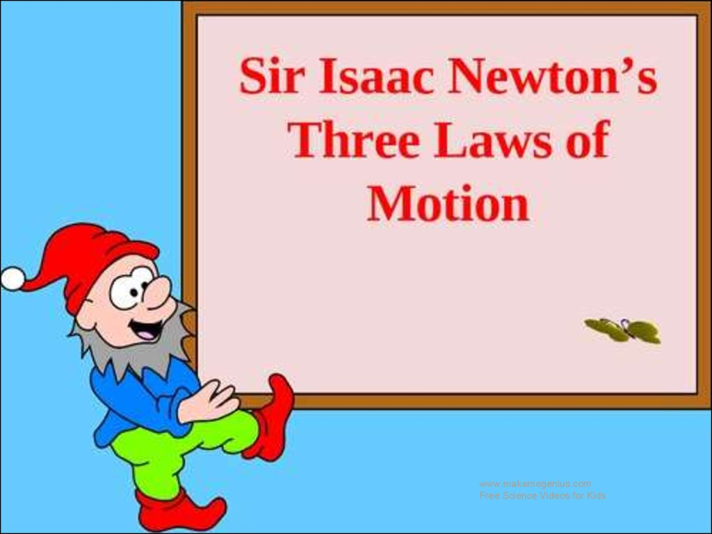 newton s laws of motion online presentation