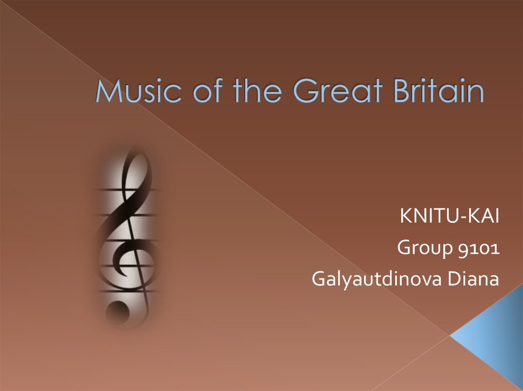 Music of the Great Britain