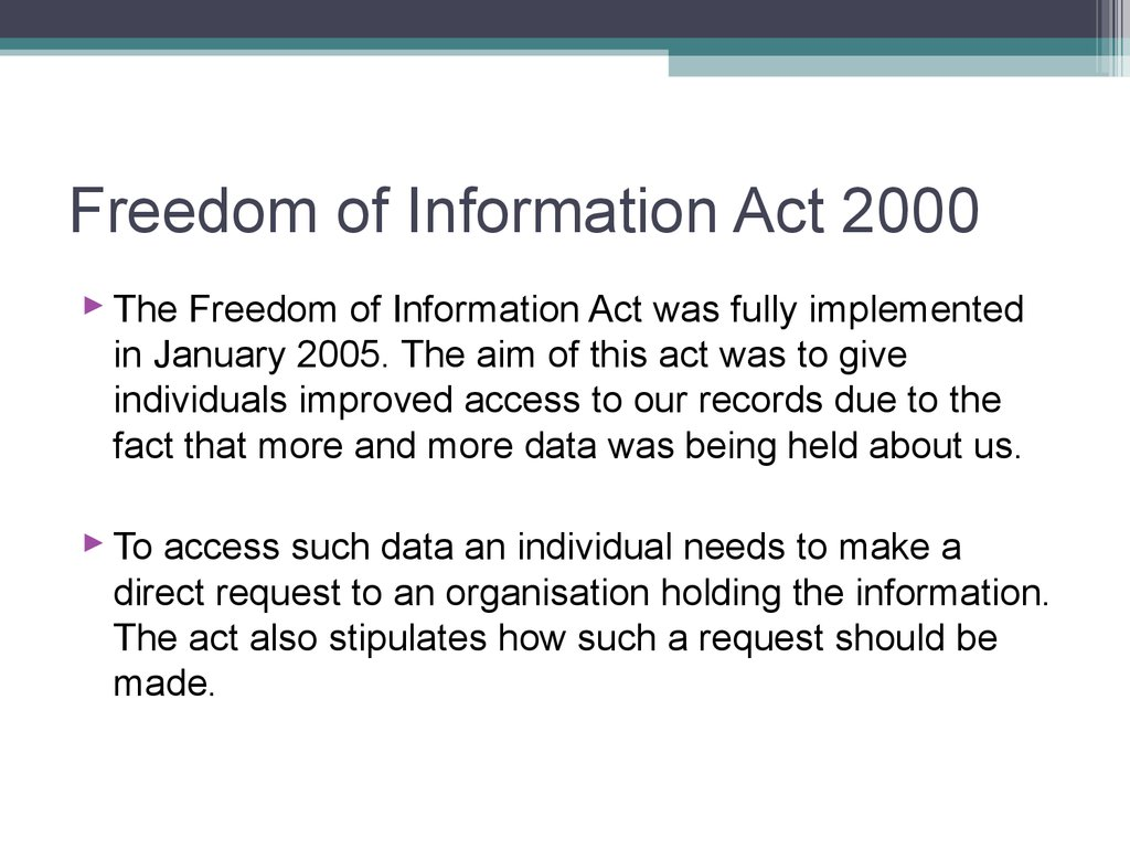 the freedom of information act The head of each executive department and agency subject to the freedom of information act [5 usc 552] shall, to the extent permitted by law.