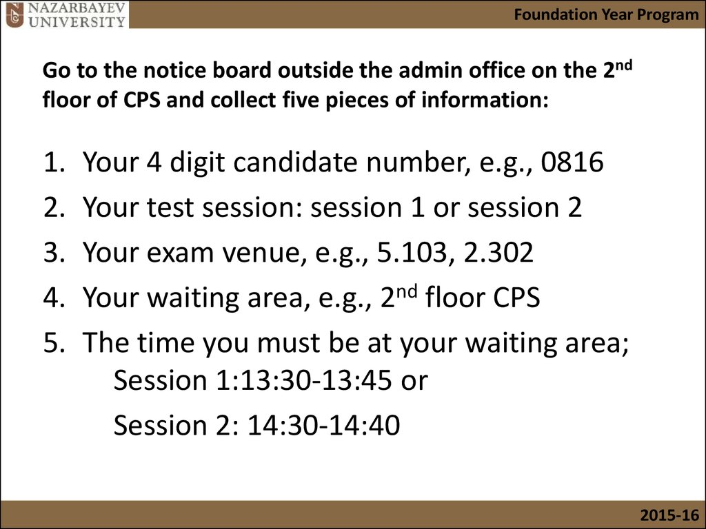Pre calculus in-class test 1: exam procedures and instructions