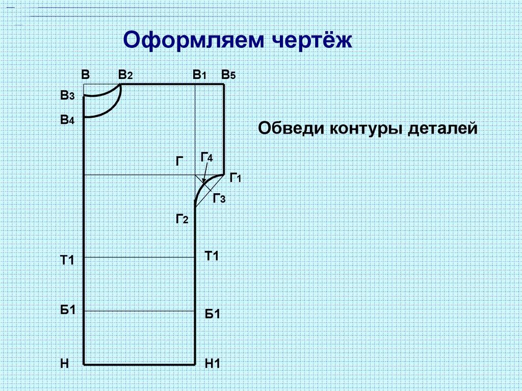 Выкройка основа по формулам фото 211