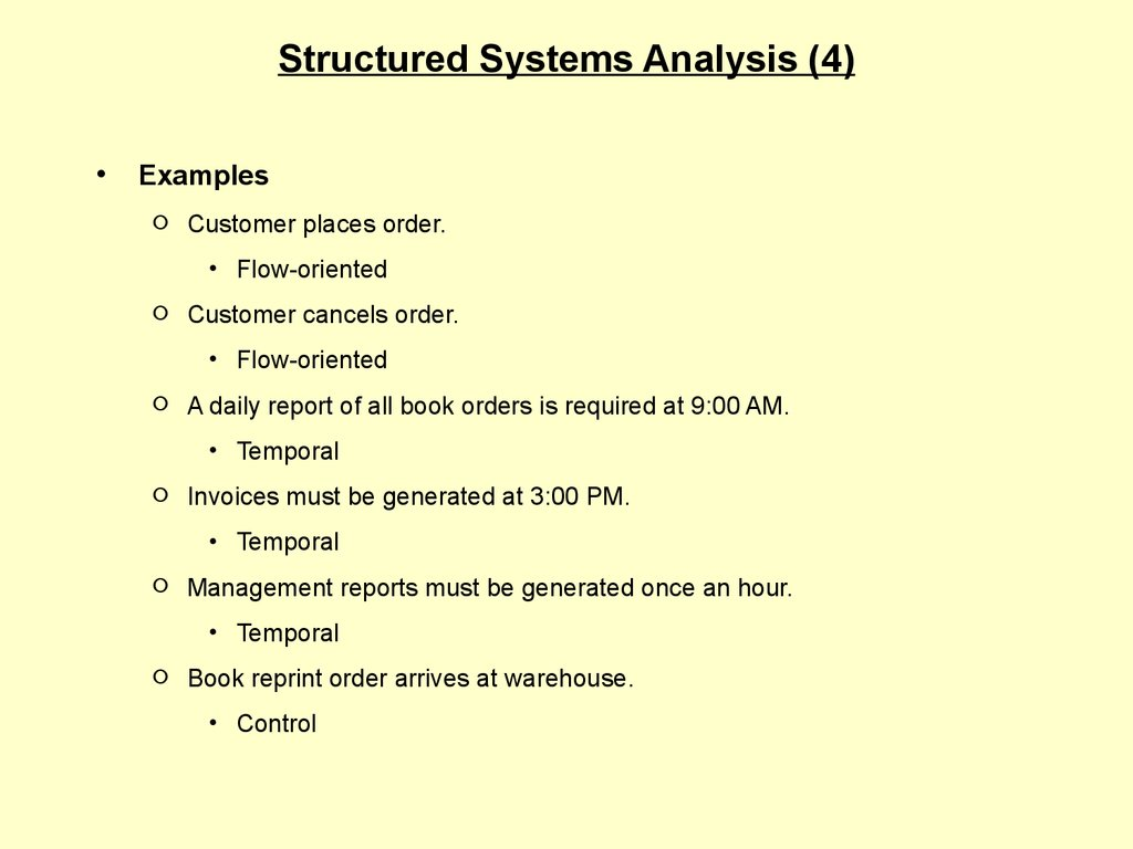 system analysis example Analysis and research for a data warehouse system - analysis and research for a data warehouse system data warehousing is a difficult system and has to have the capability deliver quality data an.