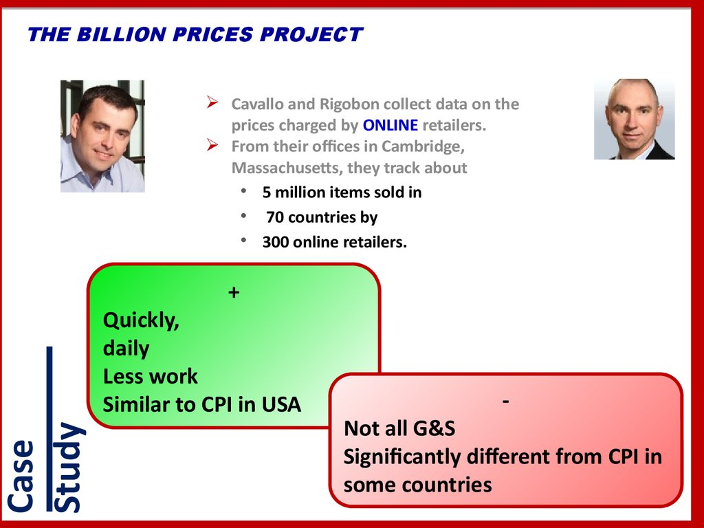 THE BILLION PRICES PROJECT