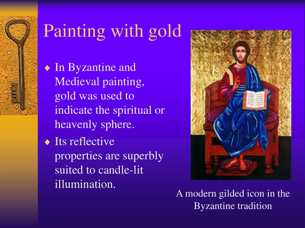 Painting with gold