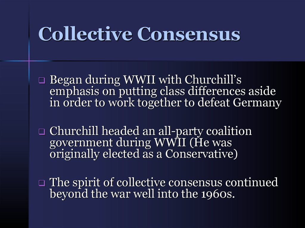 Collective Consensus