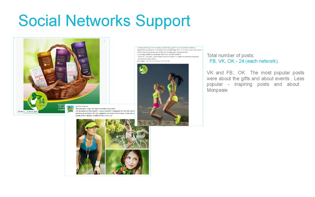 Social Networks Support
