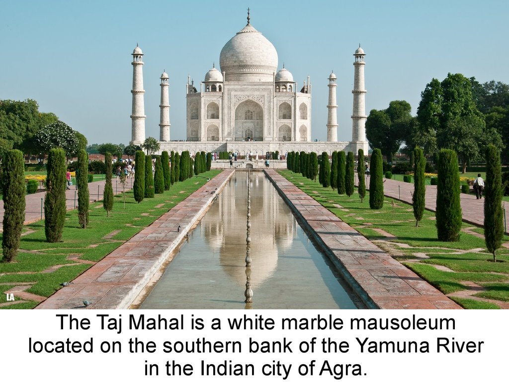 Taj Mahal презентация онлайн