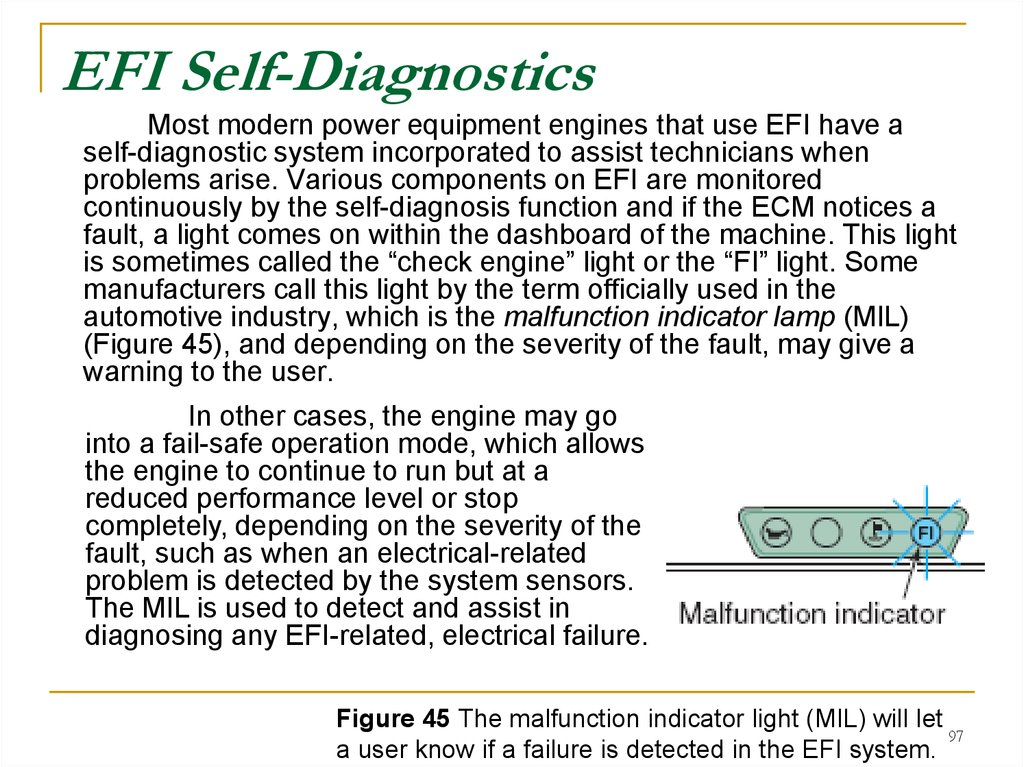 EFI Self-Diagnostics