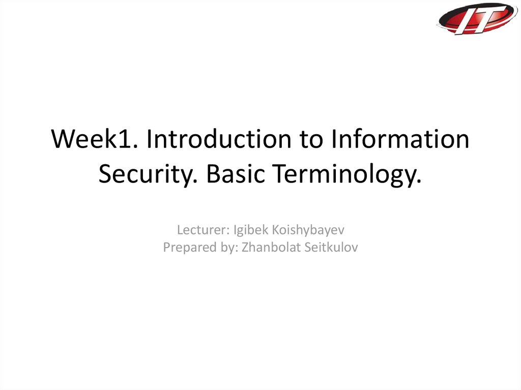 introduction of information security systems Information systems security does not just deal with computer information, but also protecting data and information in all of its forms, such as telephone conversations.