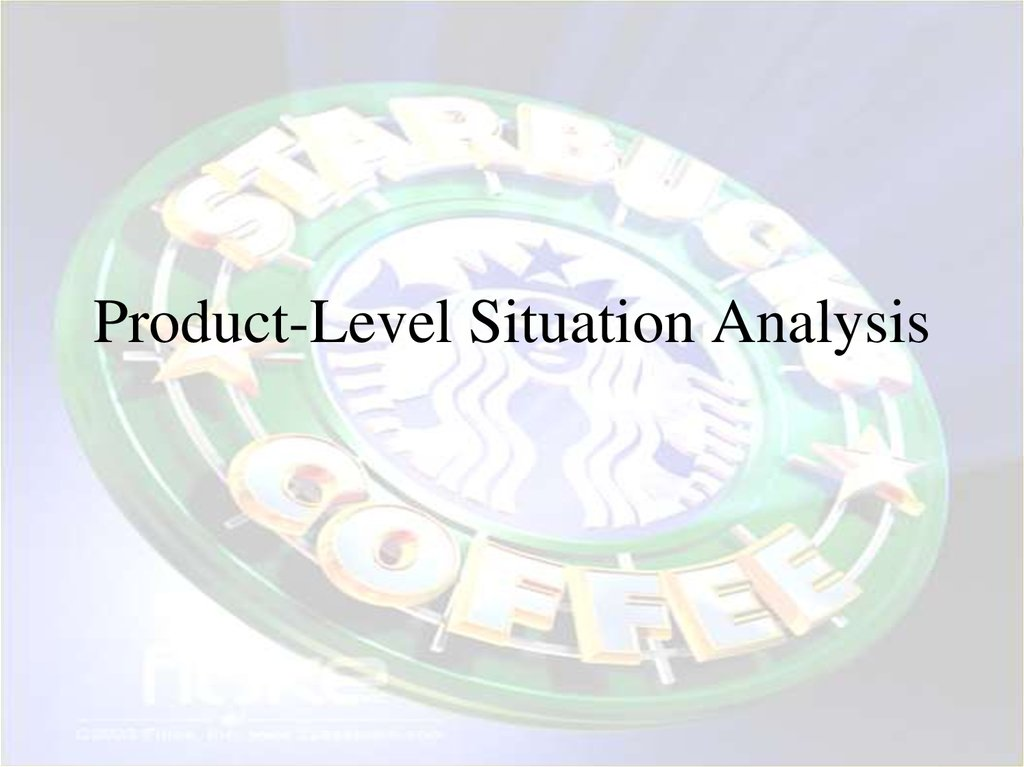 Product-Level Situation Analysis