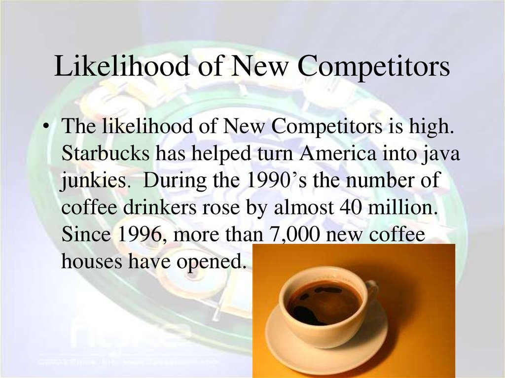Likelihood of New Competitors