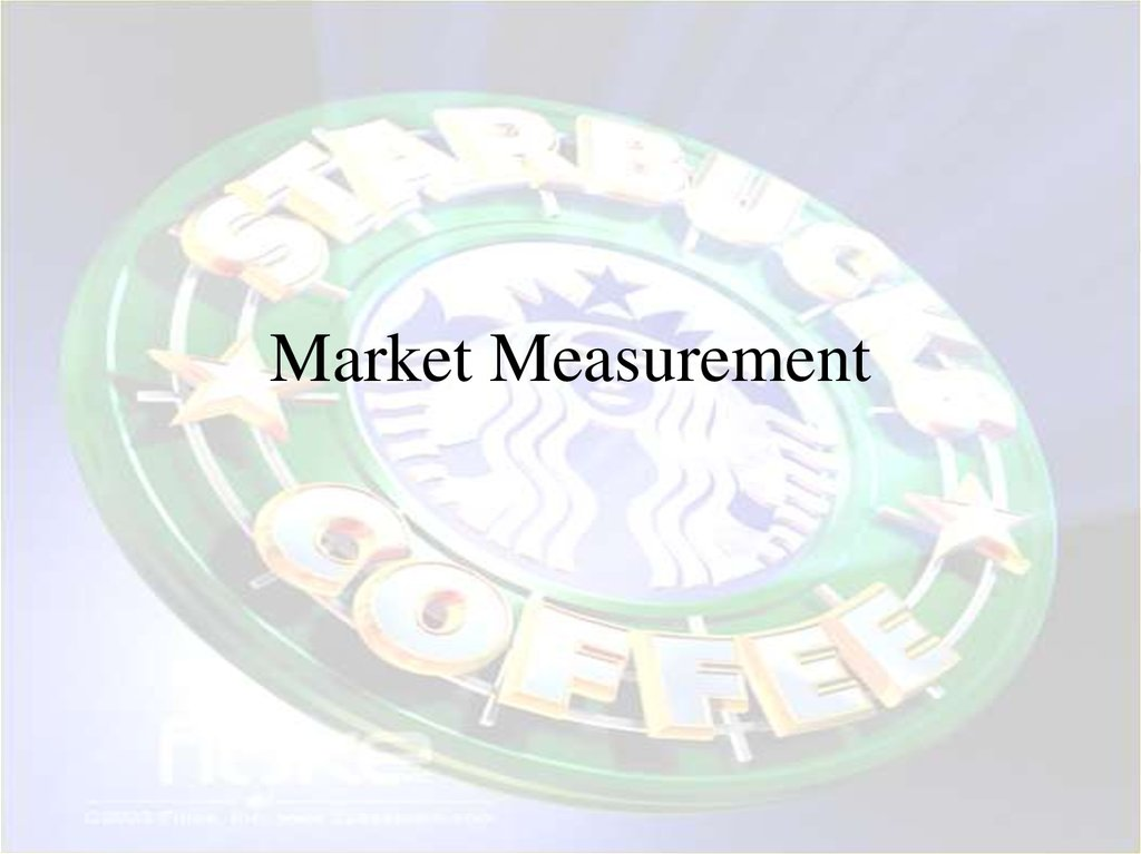 Market Measurement