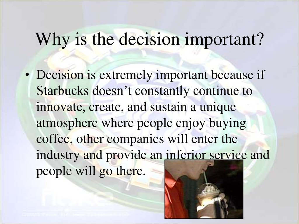 Why is the decision important?