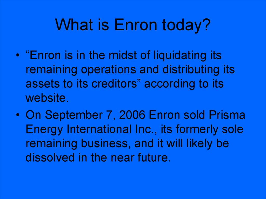 case study enron corporation accounting scandal How did enron make their money, hide their finances, fail and get caught financial reporting (2004) - duration: 42:21 the film archives 76,995 views.