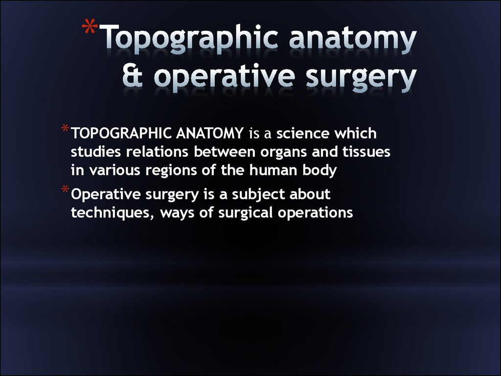 topographic anatomy of face