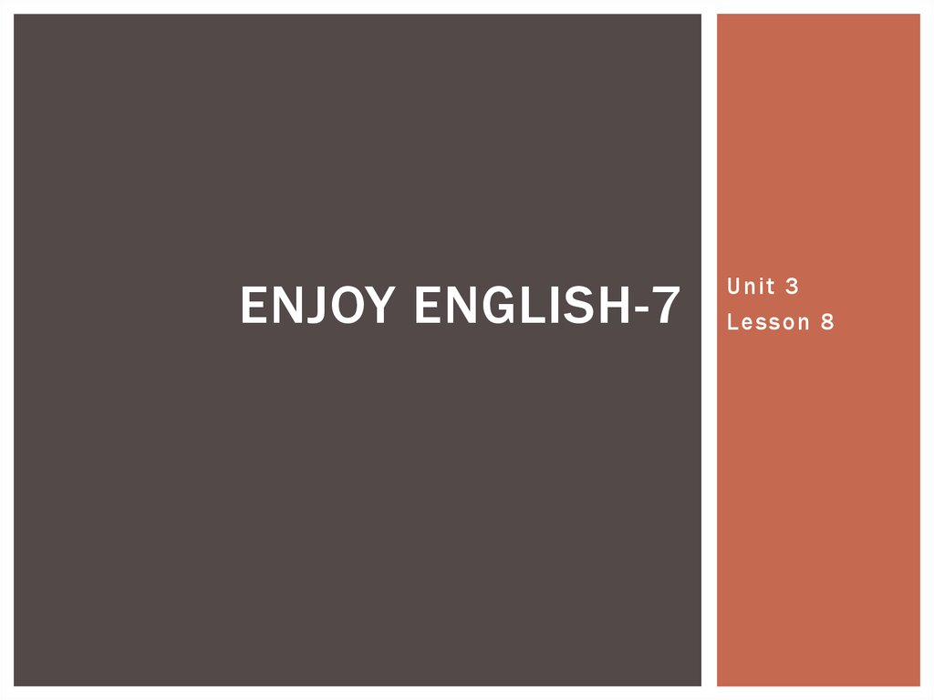 Enjoy English-7