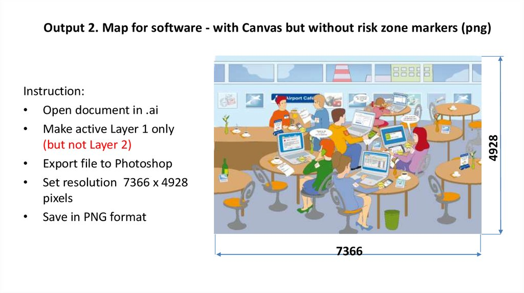 Output 2. Map for software - with Canvas but without risk zone markers (png)