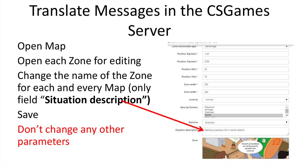 Translate Messages in the CSGames Server