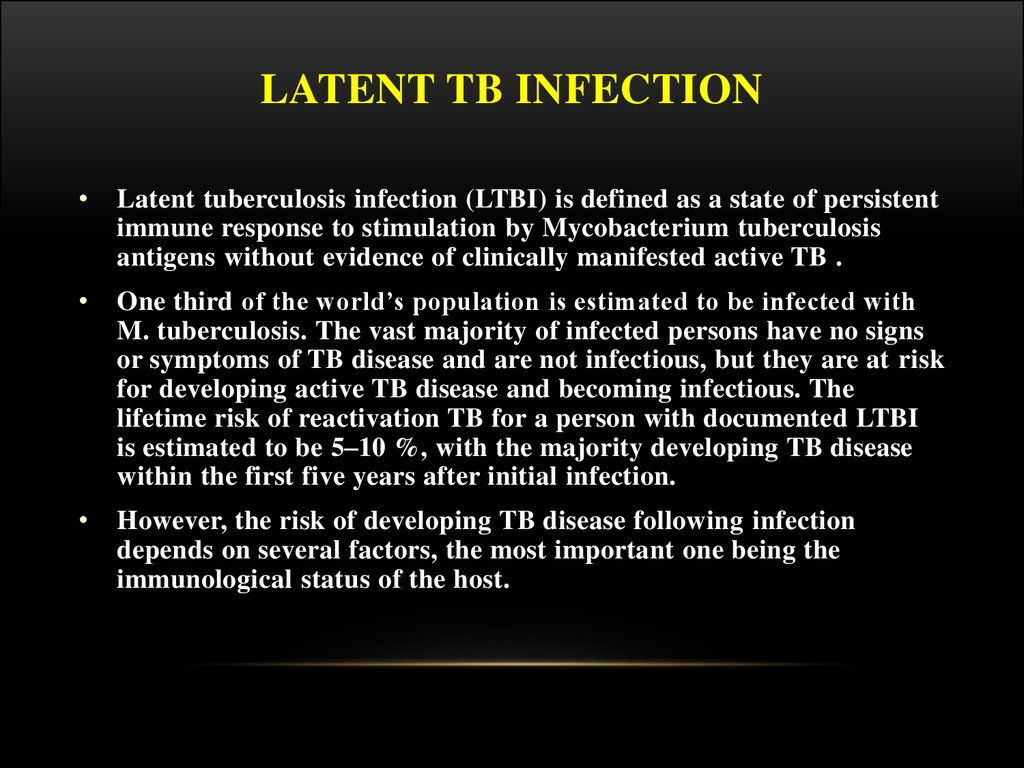 ltbi journal review To assess the annual risk for latent tuberculosis infection (ltbi) among health care workers (hcws), the incidence rate ratio for tuberculosis (tb) among hcws.