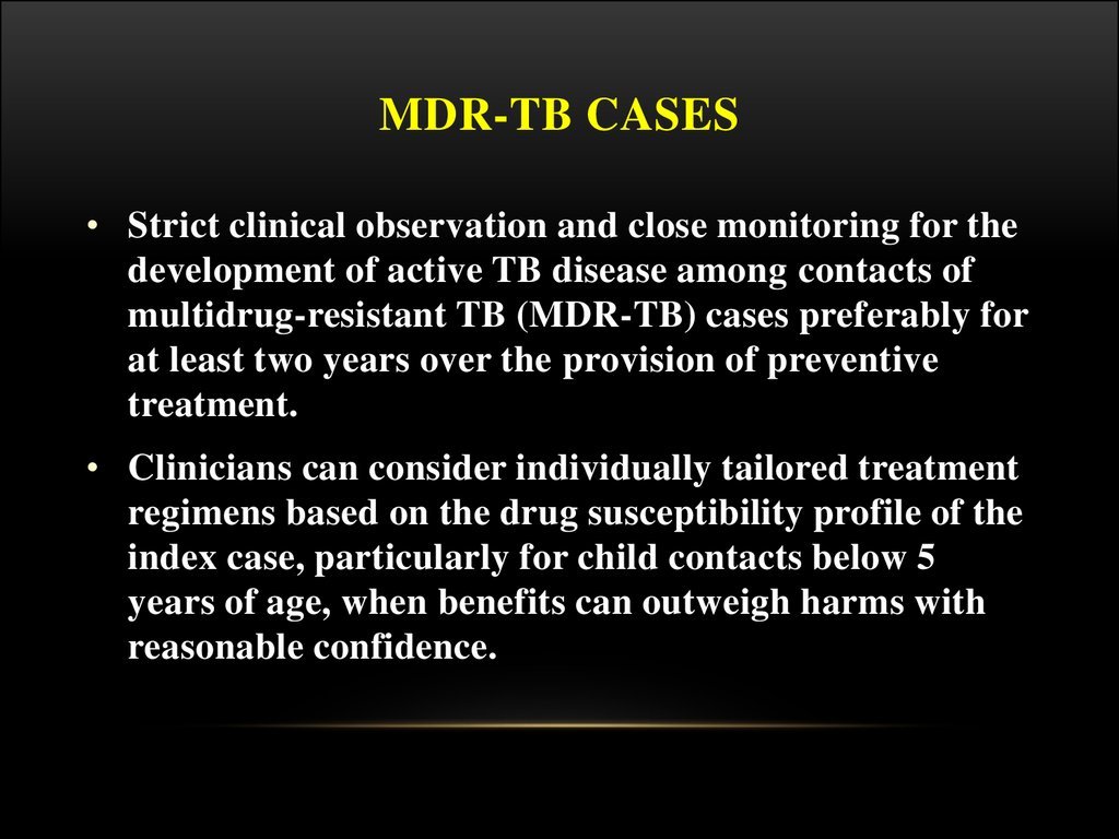 Mdr-tb cases