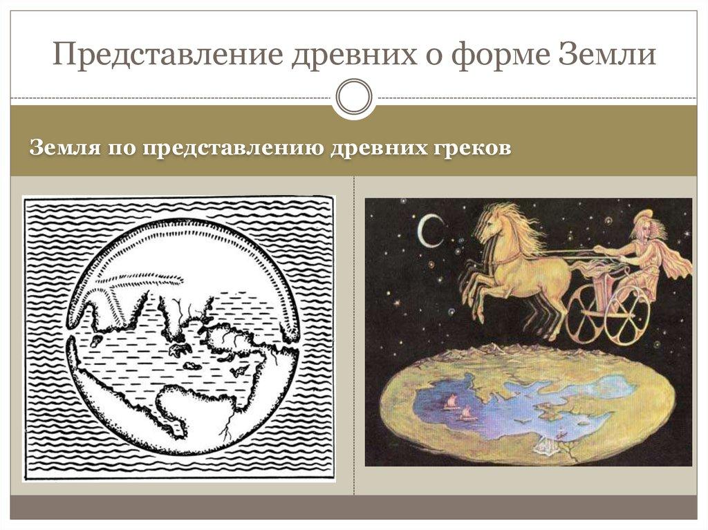 Картинки представление древних греков о землю