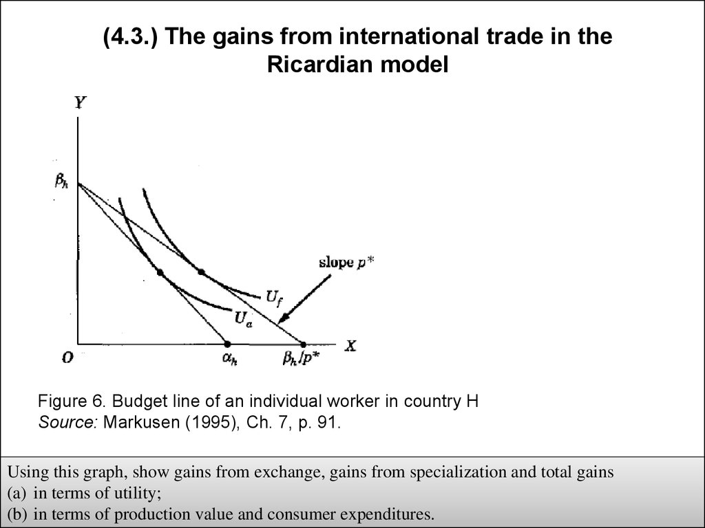 countries can gain from the exchange By developing and exploiting their own scarce resources, countries can produce a surplus, and trade this surplus in exchange for the resources they need.