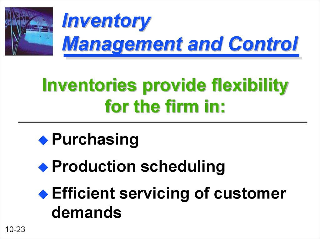 demand inventory management A complete portfolio of functionality for companies to better understand and manage the demand used for inventory decisions.