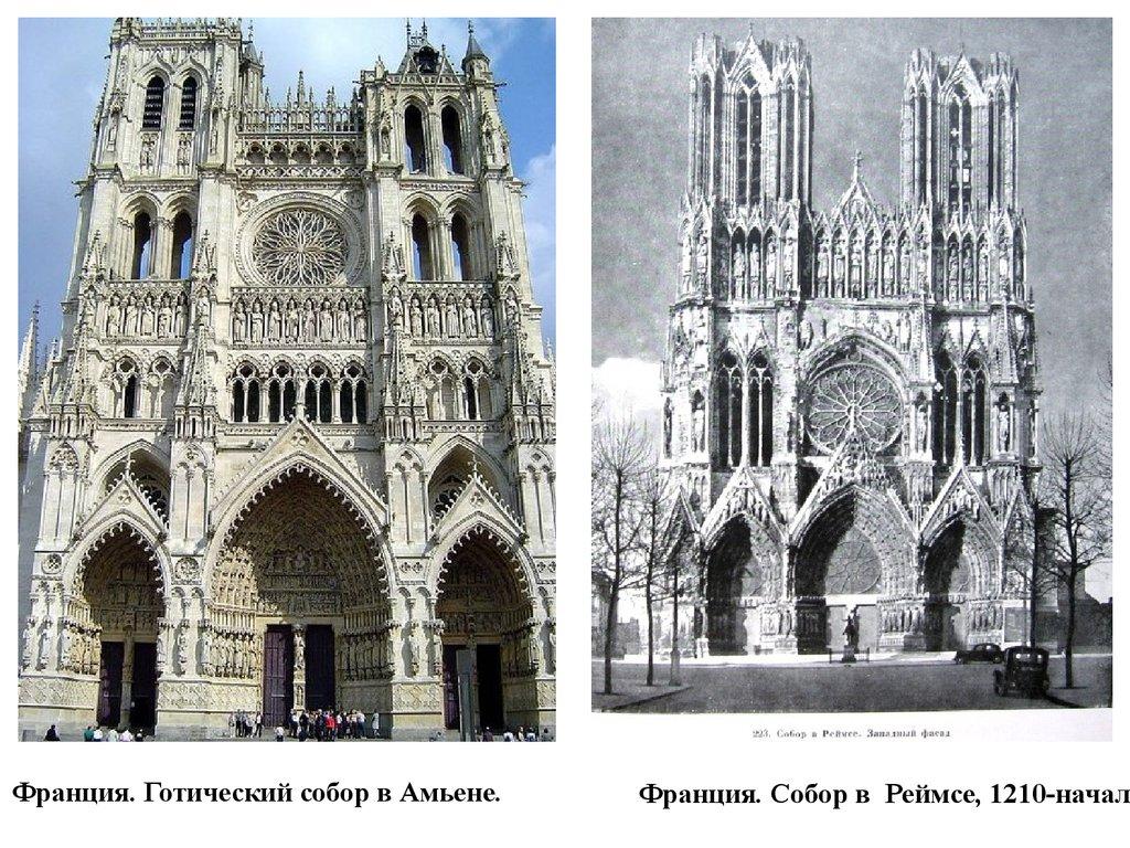 просторы во франции готический собор снесли мочевом пузыре
