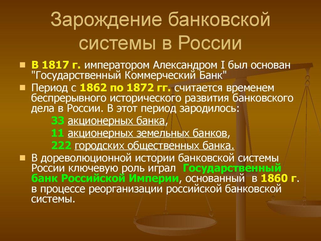 История развития банковой системы древний мир