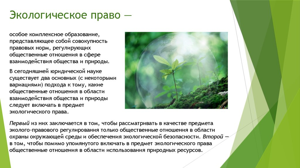 environmental law Information about international environment law seeking to protect the environment.