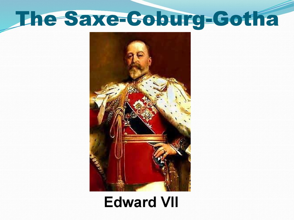 The Saxe-Coburg-Gotha