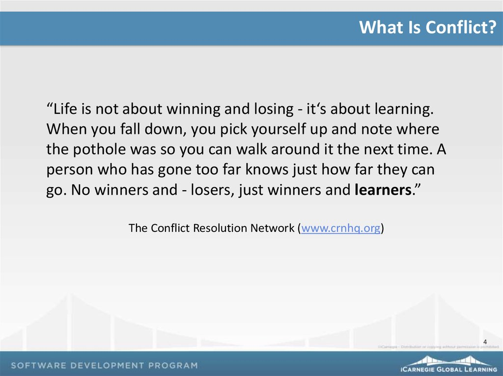 what is relationship conflict