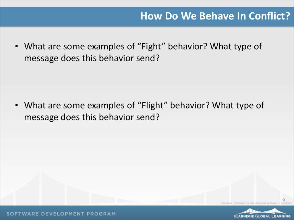 Conflict Management Online Presentation