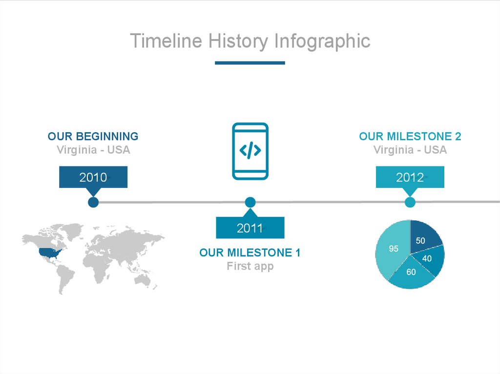 Timeline History Infographic