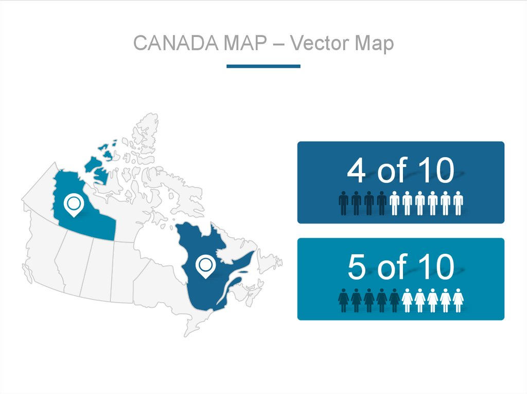 CANADA MAP – Vector Map
