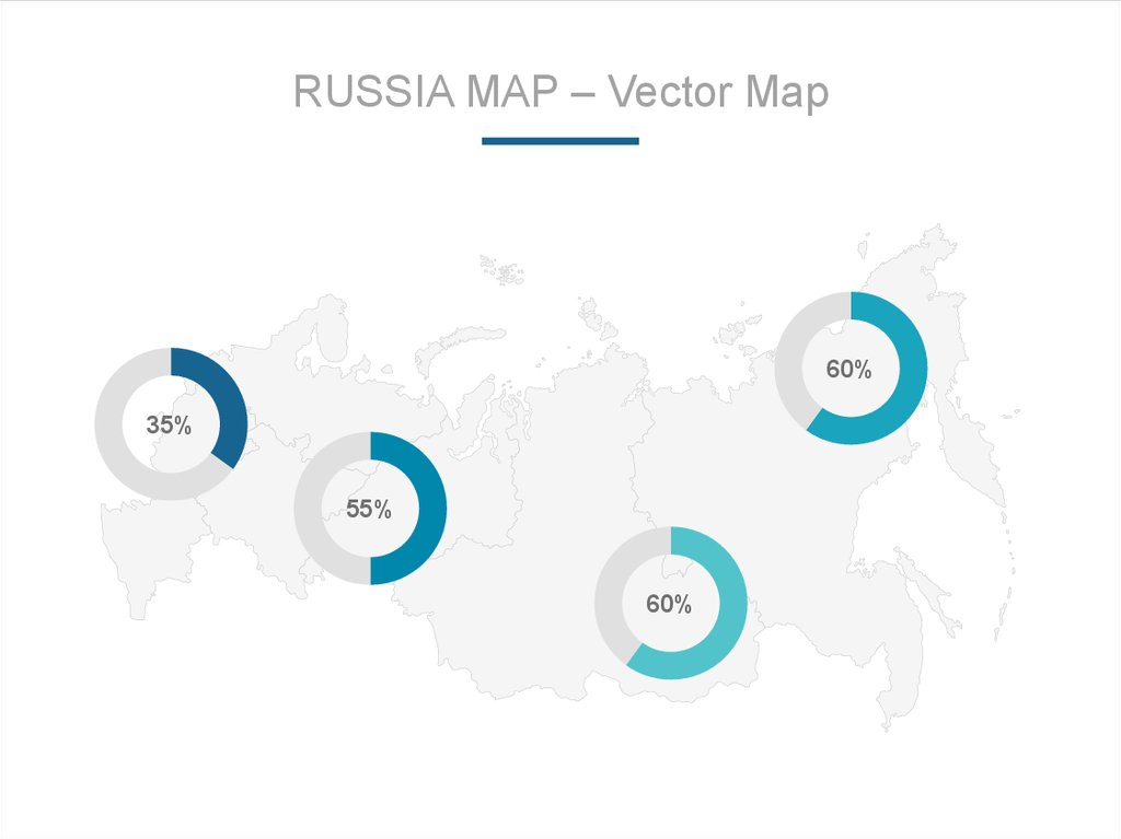 RUSSIA MAP – Vector Map