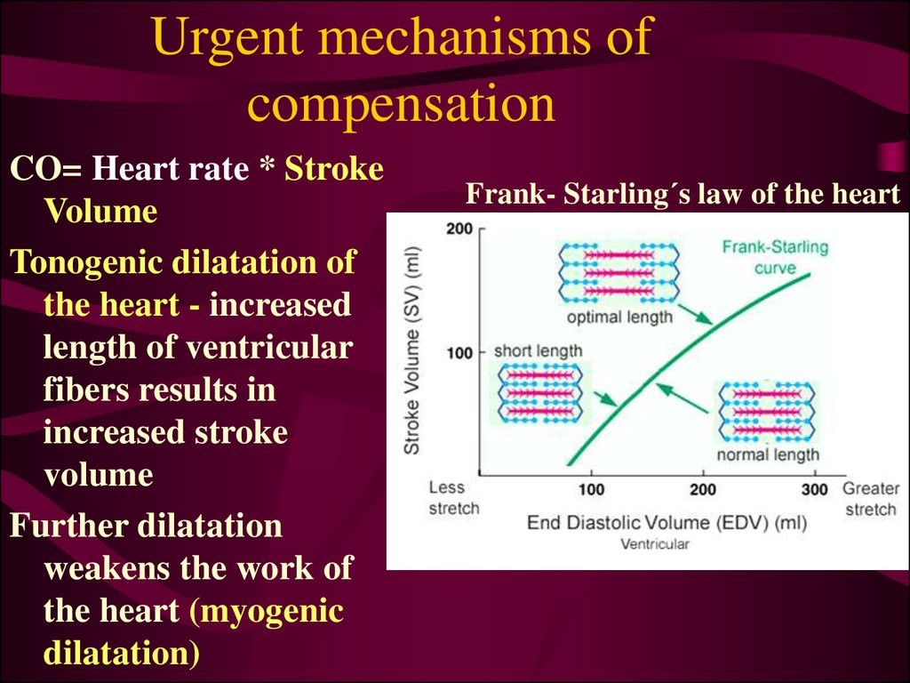 Urgent mechanisms of compensation
