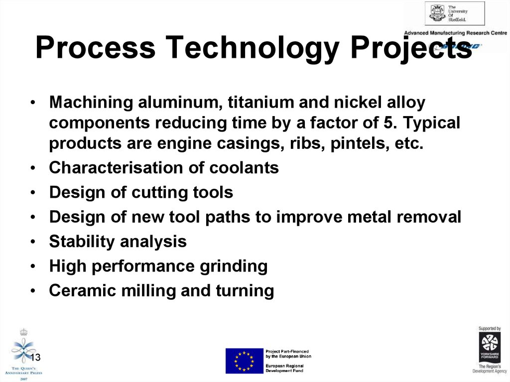 Process Technology Projects