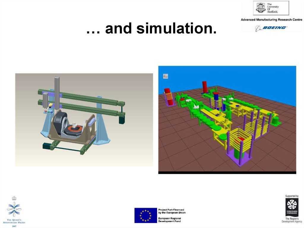 … and simulation.