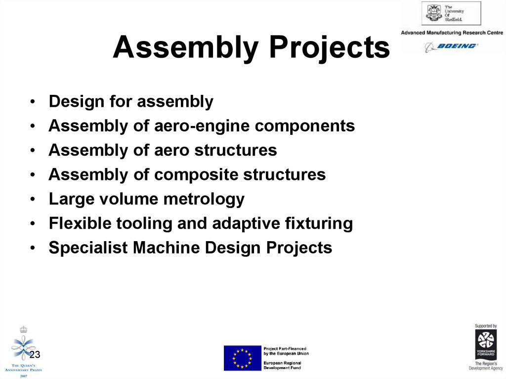 Assembly Projects