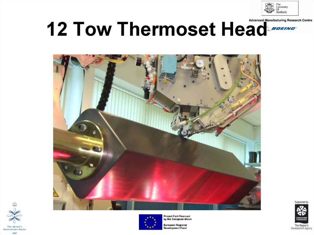 12 Tow Thermoset Head