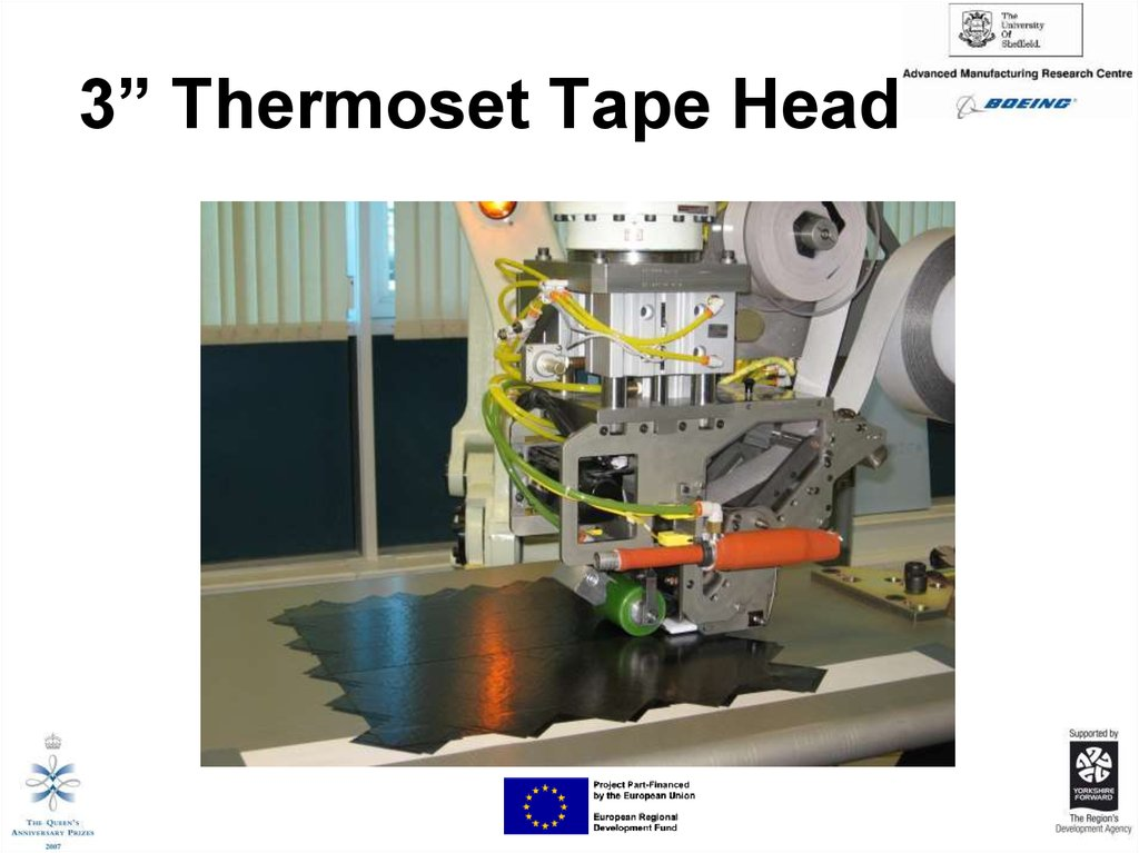 "3"" Thermoset Tape Head"